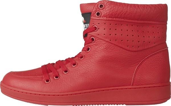 TRAVEL FOX 世足推薦鞋款-義大利隊_SEXY性感-高筒鞋款(紅)_原價$3,800元(男) & 3,500(女)