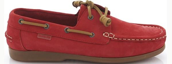 TRAVEL FOX 世足推薦鞋款-義大利隊_STYLE風格-帆船鞋款(紅)_原價$3,000元(男&女)