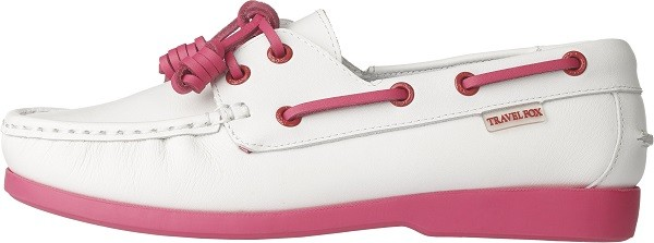 TRAVEL FOX 四大精神之STYLE風格-帆船鞋款(粉紅色)_原價$3,000元 (女)