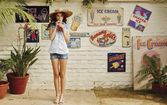 LEVI'S縱情夏日玩美一夏 個性短褲與繽紛色彩 絢爛展演熱情夏季