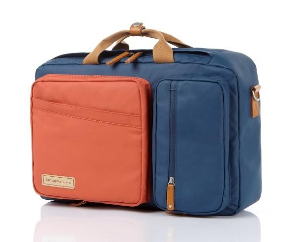 4.Samsonite RED_EASY WAY系列後背手提肩背三用包_售價6600元