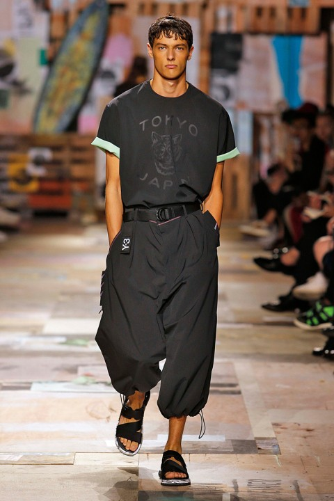 Y3Menswear Spring Summer 2015 Paris Fashion Week June 2014