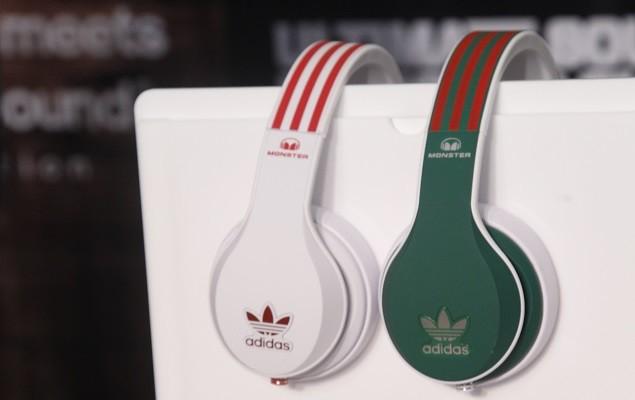 MONSTER與知名運動品牌adidas聯名款,推出國家代表隊四色