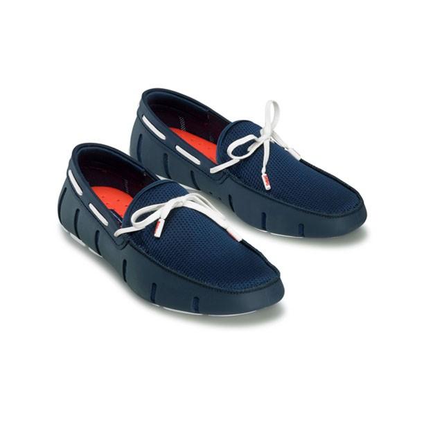 SWIMS_防潑水樂福鞋(藍)_6880元