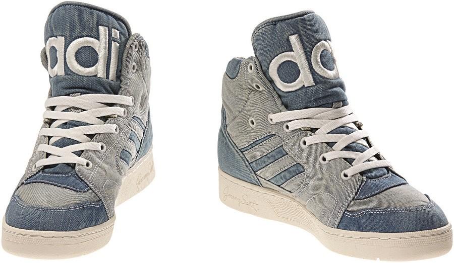 adidas Originals x Jeremy ScottINSTINCT HI高筒丹寧布球鞋 NTD5,890_M29026