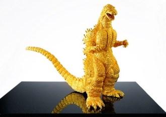 1.4-Million-24-Karat-Solid-Gold-Godzilla-Figure-01-570x420