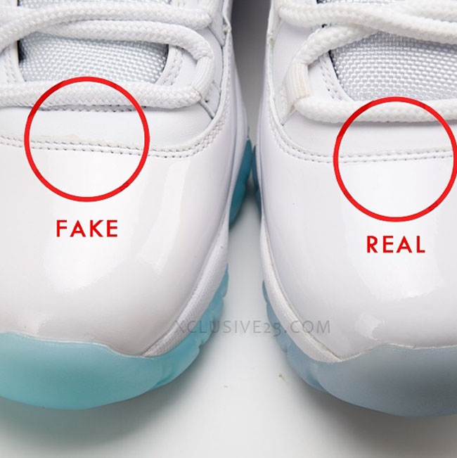 air jordan 11 columbia comparision-4