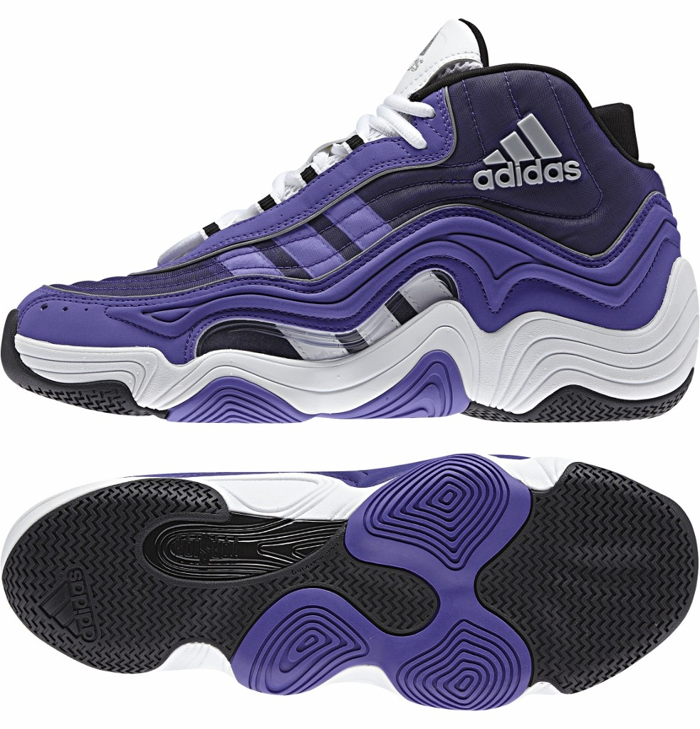 adidas Crazy II 林書豪出席官方記者會鞋款,紫色售價$4,290,8月中下旬上市