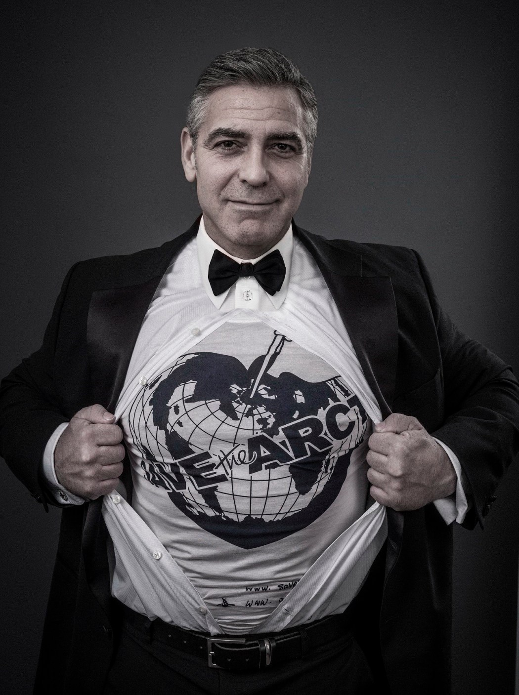 Vivienne Westwood Save the Arctic - george_clooney