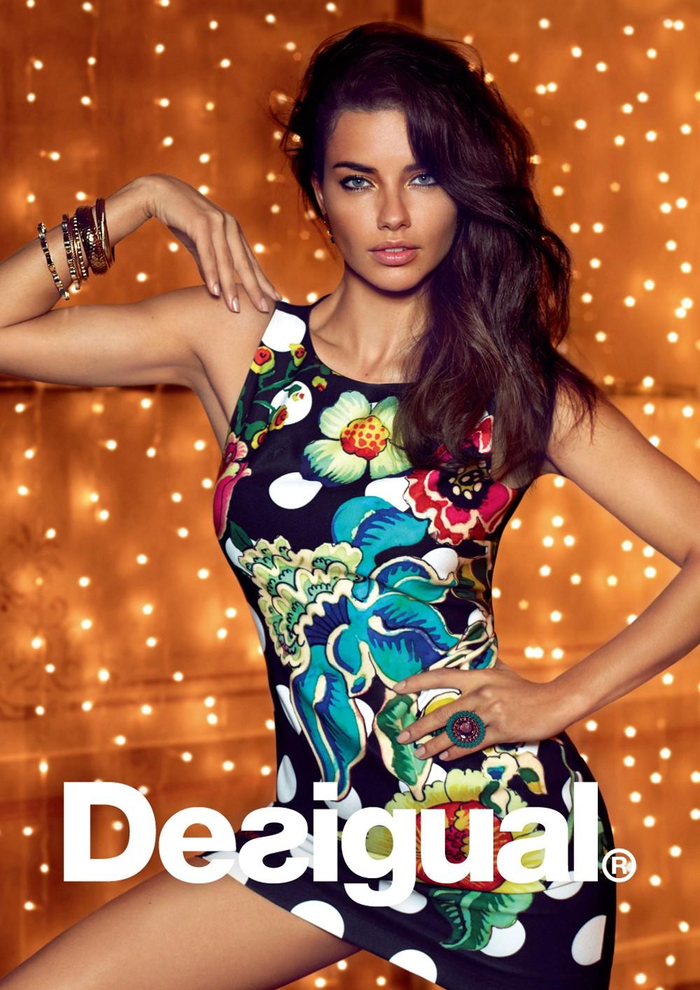 巴西超模Adriana Lima擔任Desigual首位形象大使 性感演繹秋冬系列1
