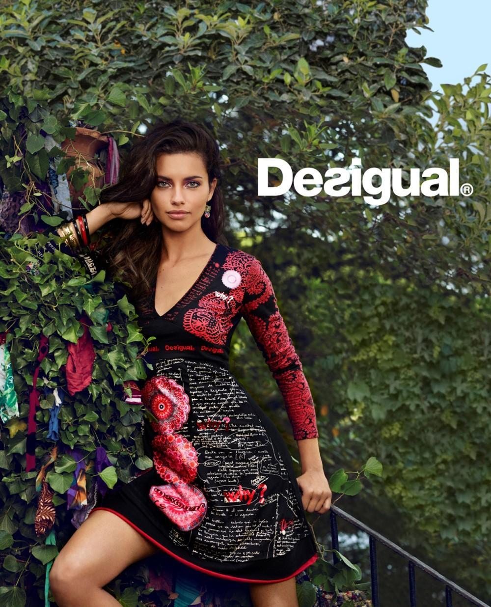 巴西超模Adriana Lima擔任Desigual首位形象大使 性感演繹秋冬系列4