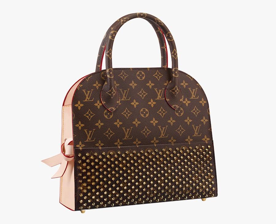 Louis-Vuitton-Christian-Louboutin-Shopping-Tote