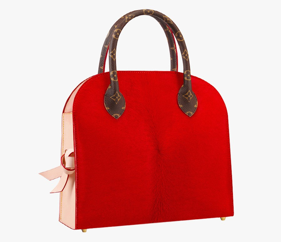 Louis-Vuitton-Christian-Louboutin-Shopping-Bag-Rear