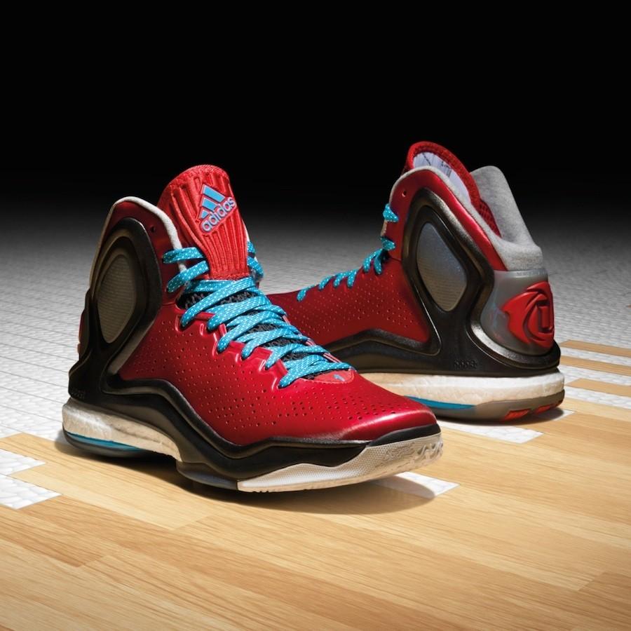 1.adidas D Rose 5 Boost_紅色_C75593_$5290_10月16日發售