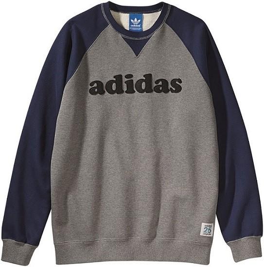 adidas Originals by NIGO 藍色復古圓領運動衫NTD3090