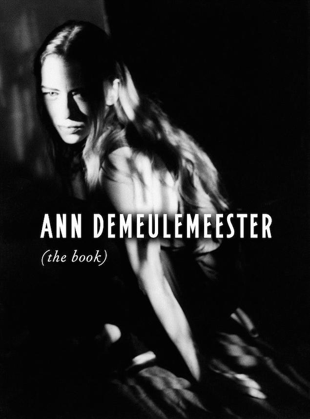 Ann Demeulemeester the book poster