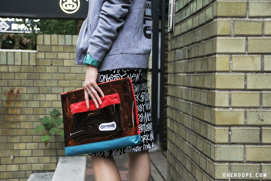 Bags / STUSSY WOMEN × OUTDOOR PRODUCTS Vinyl Clutch / NT.2,680