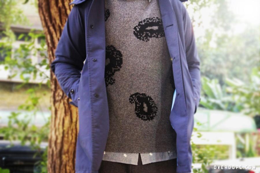 Sweatshirt / Paisley Sweater / NT.3,280