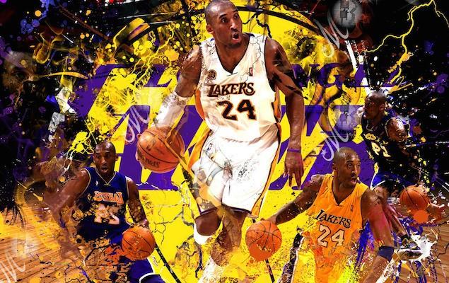 Kobe-Bryant-Wallpaper-Dribbling-Man-Lakers-Color-As-Background
