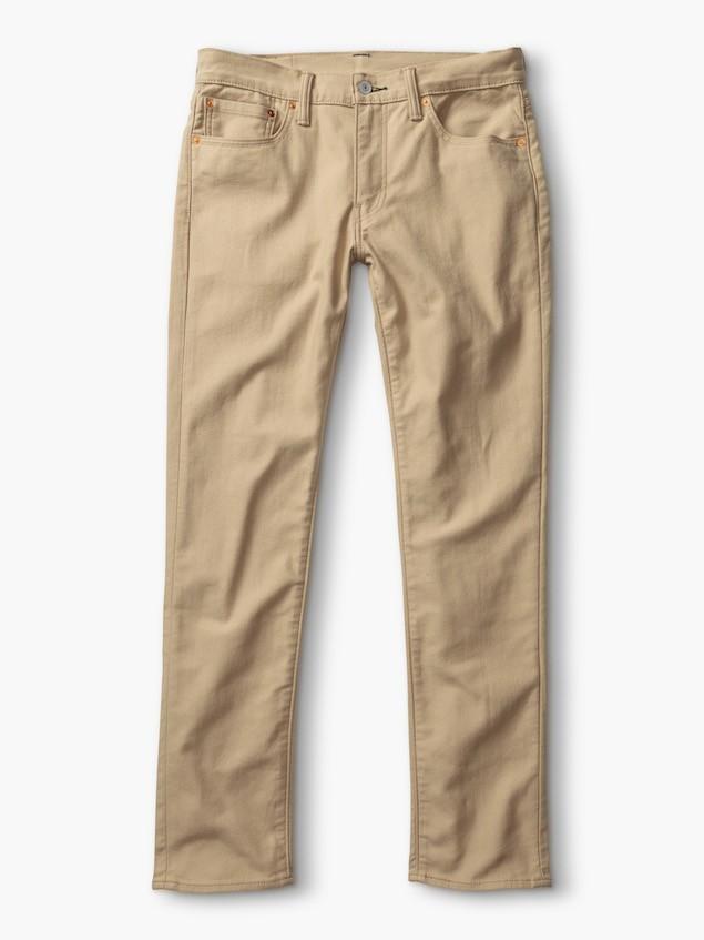 保暖系列土黃色511 非丹寧休閒褲