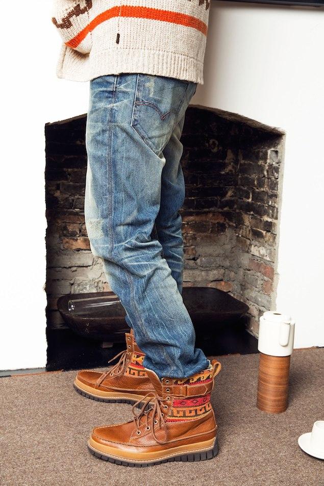 LEIV'S Warm Jeans 讓你一次「薄、暖、型」