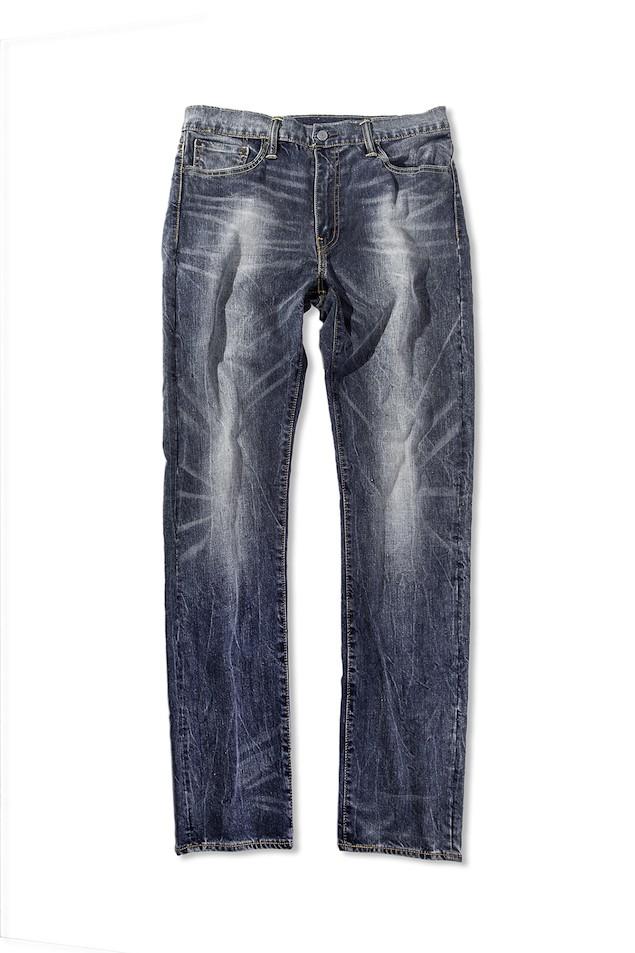 THERMOCOOL系列513合身直筒丹寧褲-個性街頭