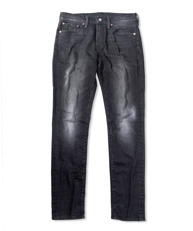 THERMOLITE系列 511 合身窄管丹寧褲-暗夜潮黑