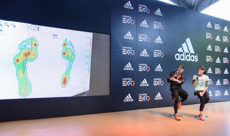 1.adidas Running EXPO 邀請劉軒於台北馬賽前一周為初馬跑者分享 「adidas10大路跑備戰攻略」