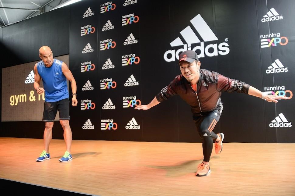 8.adidas 10 大路跑備戰攻略(六)-為目標努力的賽前訓練,或前往adidas Running EXPO 加入adidas gym & run 課程