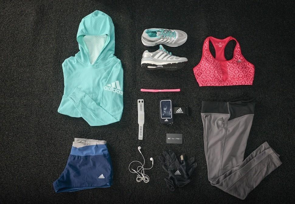 14.adidas 女生馬拉松裝備
