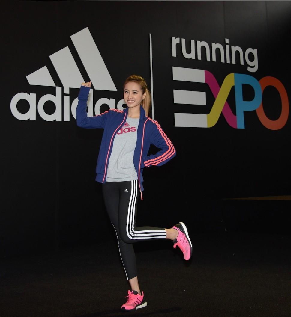 美力系隊長Jolin將持續關注台北馬拉松賽事,祝福台北馬拉松13,841名女性跑者都能順利完賽,奪得佳績。