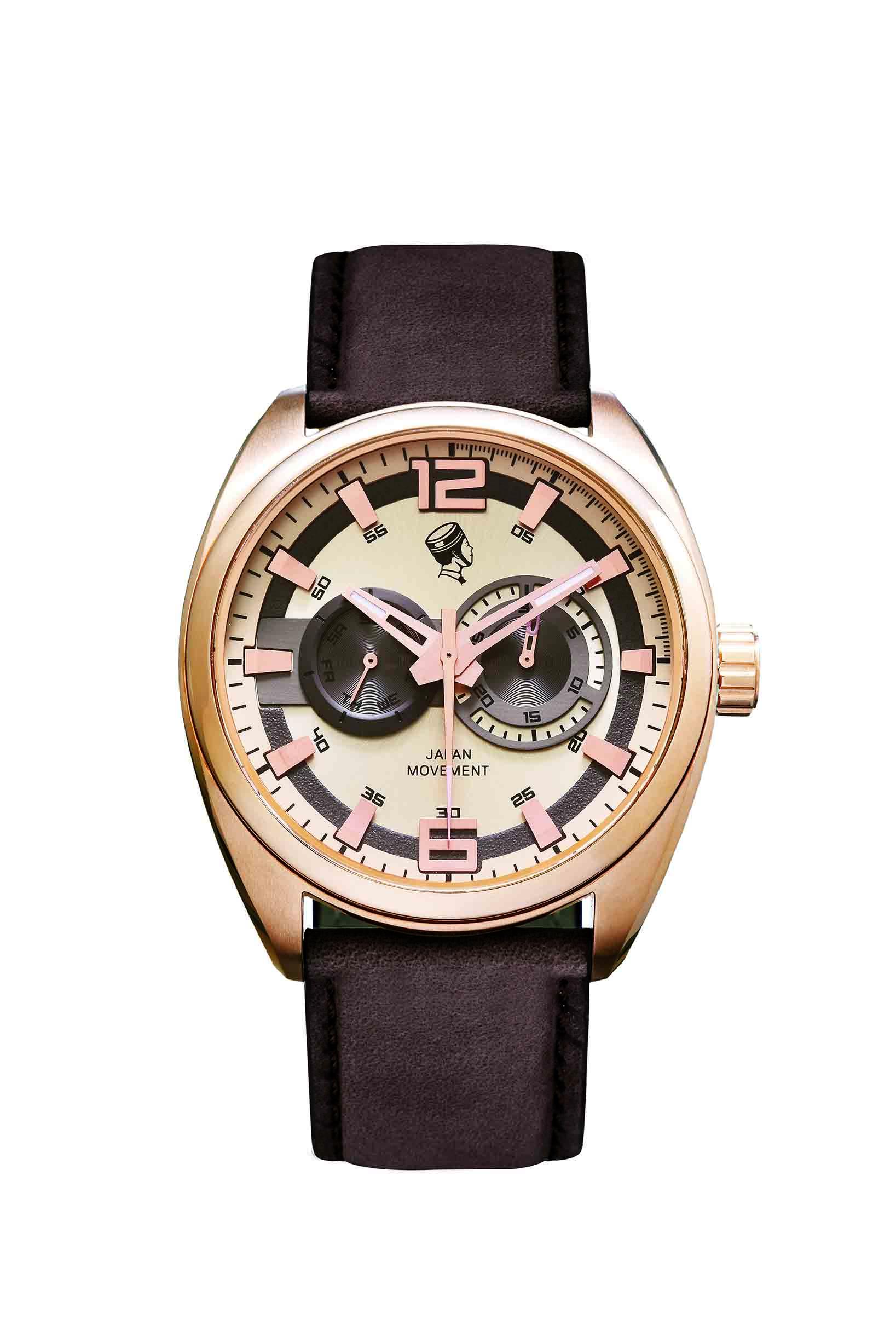 STAG 咖啡色錶帶 NTD 7650