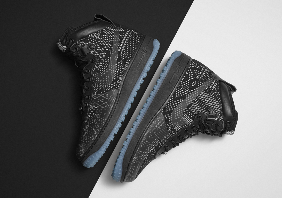 "Nike Air Force 1 Duckboot ""BHM""/ US $175"