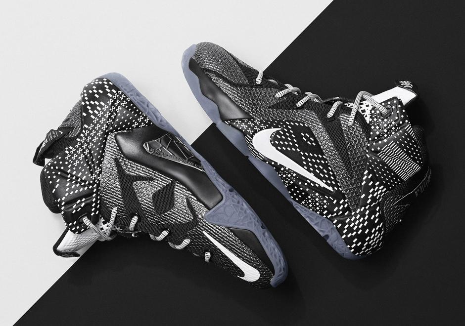 "Nike LeBron 12 ""BHM"" / US $220"