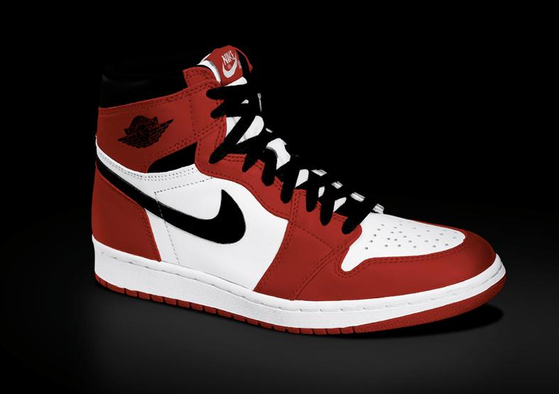 "Nike Air Jordan 1 High ""Chicago"" @ 5.30.2015 / US$160"