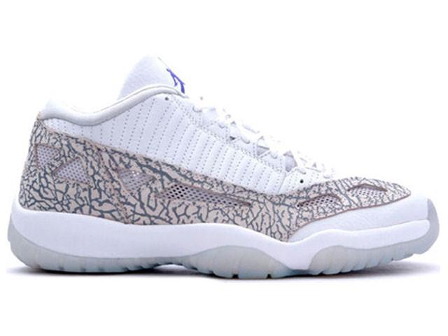 """Air Jordan 11 Low """"Cobalt""""  @ 8.2015"""