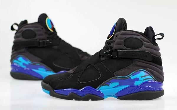 """Air Jordan 8 """"Aqua"""" @ 11.27.2015"""