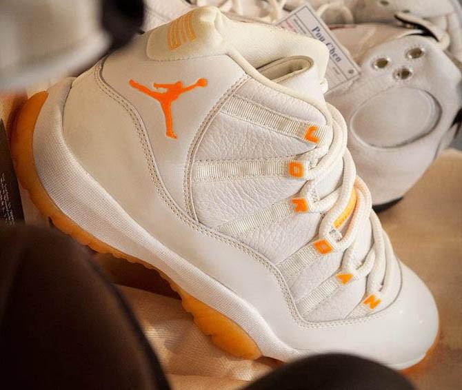 "Air Jordan 11 ""Citrus""2000年"