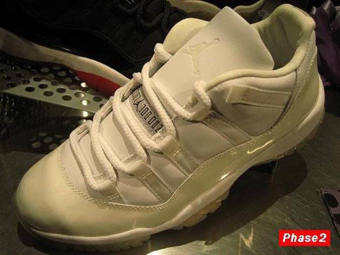 """Air Jordan 11 Low """"Zen Grey""""2001年"""