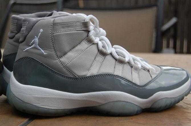 """Air Jordan 11 """"Cool Grey Mesh""""2010年"""