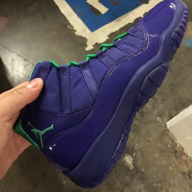 "Air Jordan 11 ""Hornets""2014年"