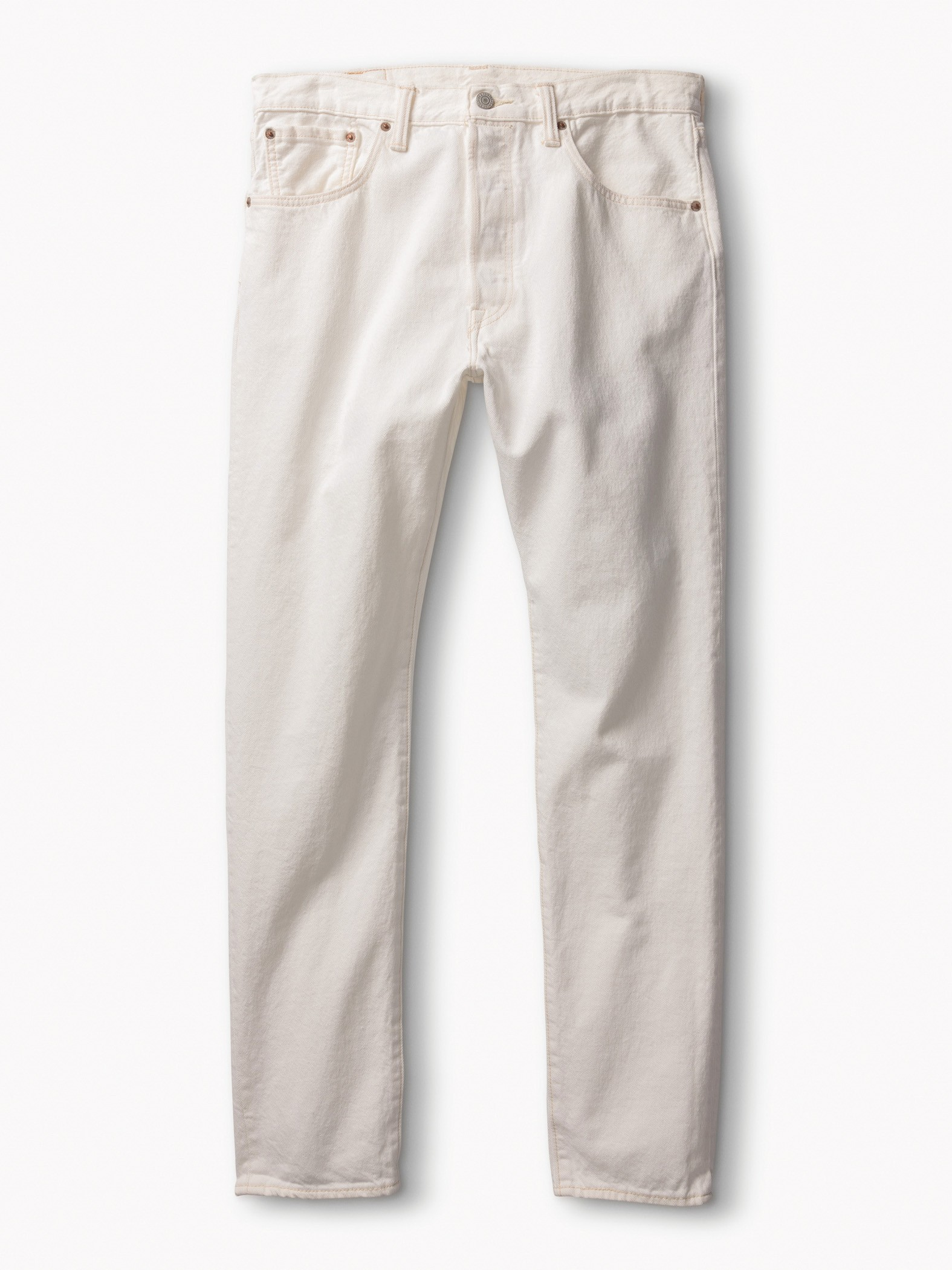 男款501CT經典窄管丹寧褲(輕亮酷白)