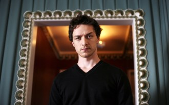 Mandatory Credit: Photo By Mark Chilvers / Rex Features  James McAvoy  James McAvoy in London, Britain - 19 Oct 2006    623843/IVU