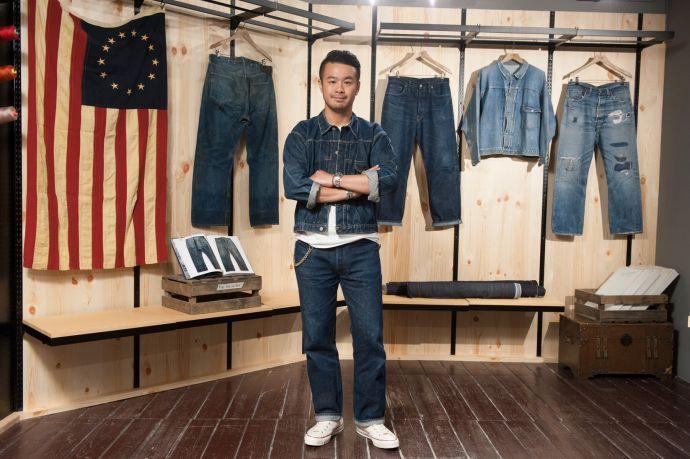 藤原裕先生從日本帶來部分私人珍貴丹寧古著收藏
