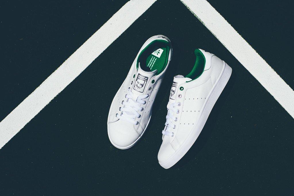 adidas-Skateboarding-Stan-Smith-Vulc-Vintage-White-OG-Green-5