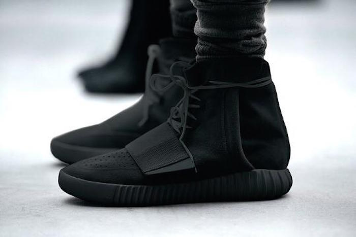 all-black-yeezys