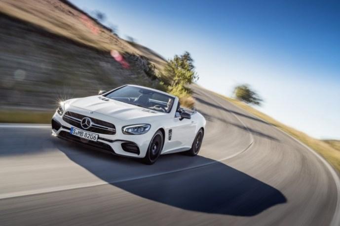 Mercedes AMG SL 63, Diamantweiß Mercedes-AMG SL 63, diamond white