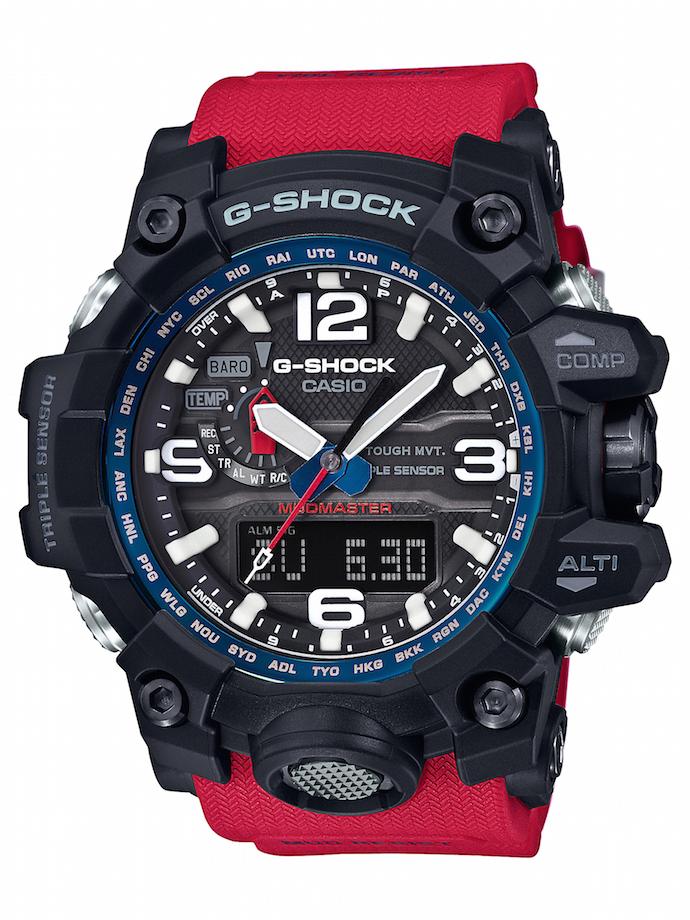CASIO G-SHOCK GWG-1000RD-4A_建議售價NT$20,000