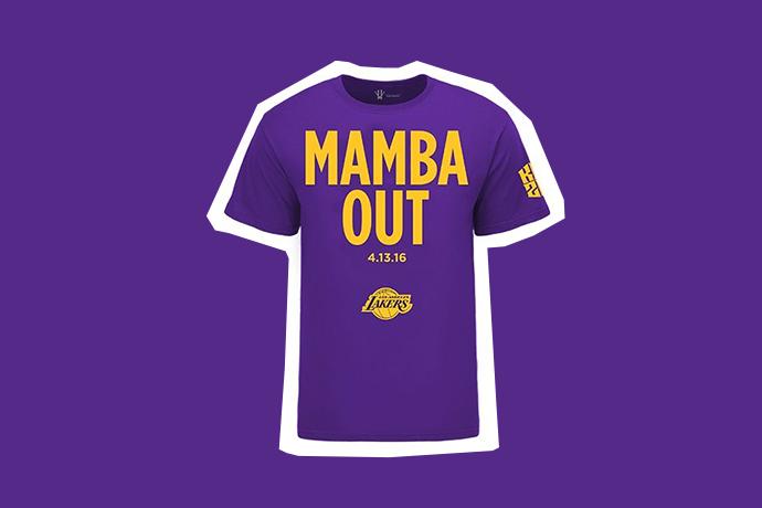 upiieb 預購開始了!Kobe Bryant「Mamba Out」紀念T-Shirt 釋出!   OVERDOPE