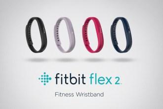 全新健身手環Fitbit Flex 2_具備防水功能,時尚、輕薄、更有型
